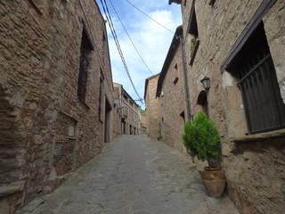 Mura,. Pueblo del Bages, cercano a Terrassa, Barcelona, Cataluña, España