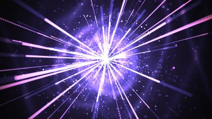Multipurpose High Impact Particle Streaks design.