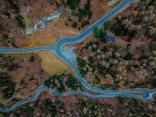 Roads Bird View