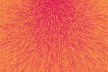 Abstract fur background, Abstract orange texture - Vector