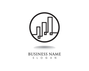 Finance logo and symbol vector