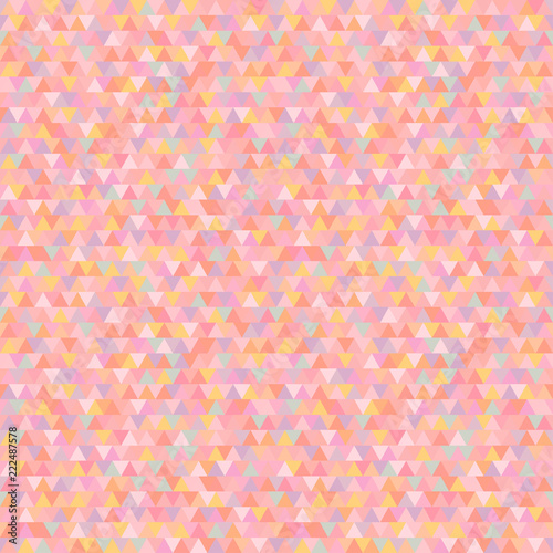 Seamless Triangle Pattern Abstract Geometric Wallpaper Of