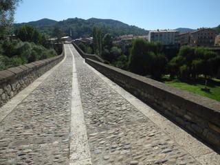 Sant Joan de les Abadesses. Pueblo de Girona, Cataluña, España
