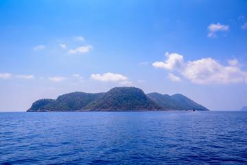 Sommerurlaub am Mittelbar / Türkei Bootsfahrt an Lagunen