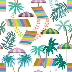 Summer tropical holiday.