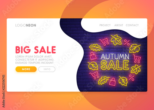 landing page mock up website home page web banner templates