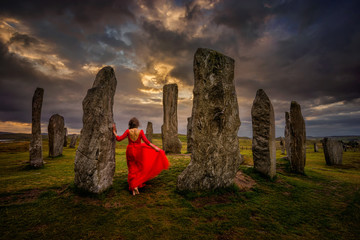 Callanish Woman