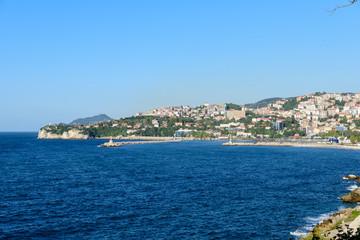 Küste von Zonguldak am Schwarzes Meer / Türkei