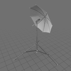 Photography umbrella lamp