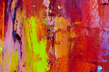 Abstract oil painting background. Oil on canvas texture. Hand dr