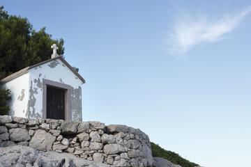 Small chapel near the Mediterranean sea