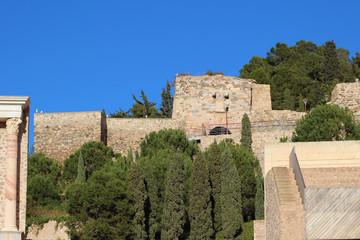 Castillo de la Concepción de Cartagena, Murcia, España