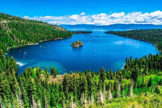 Beautiful Day in Lake Tahoe, California