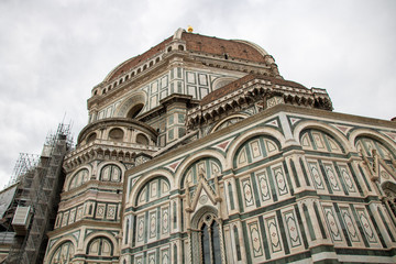 Old architecture in Florence, Italy