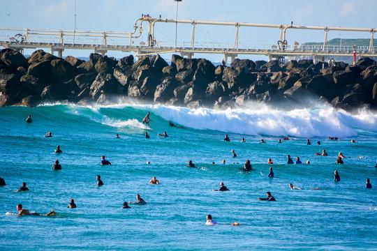 Gold Coast Duranbah Line Up