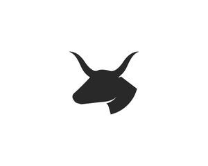 Bull Taurus Logo Template