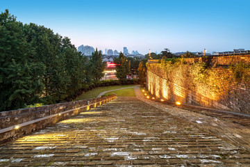 Nanjing ancient city wall traditional architecture