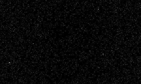 Starry sky vector stars shine space background