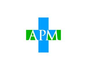 apm letter hospital logo