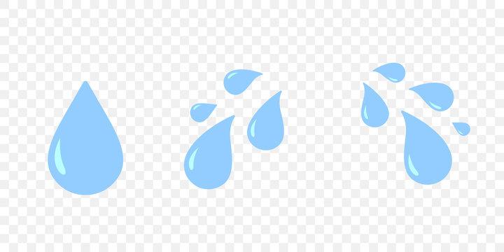 Crying teas eye isolated cartoon sad emotion