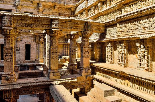 Rani ki vav stepwell in Gujarat,India
