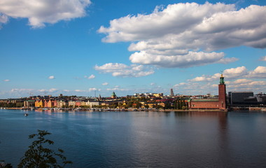 Panorama of Stockholm,Sweden