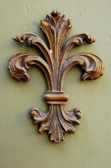 Ceramic Fleur-de-lis