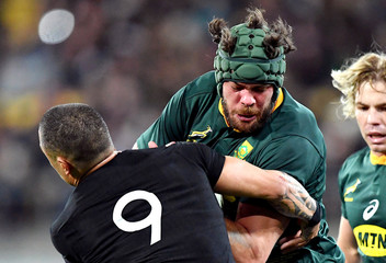 Rugby Union - Rugby Championship - New Zealand vs South Africa