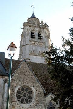 Ville de Rugles, église Notre-Dame, département de l'Eure, Normandie, France