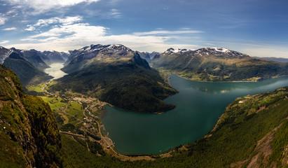 Loen in Stryn Norwegen