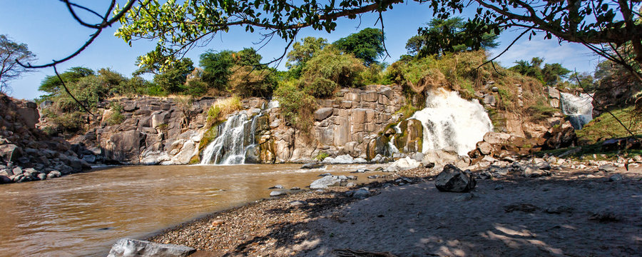 Awash Falls in the Awash National Park in Ethiopia