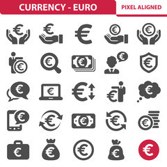 Currency - Euro Icons