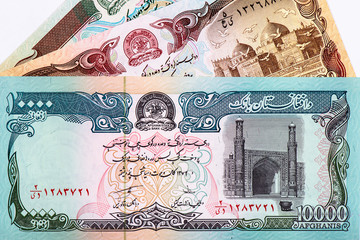 money Afghanistan background