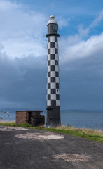 The Old West Quey Beacon Lighthouse at Port Glasgow