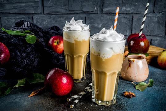 Spiced Caramel Apple smoothie