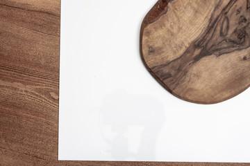 flatlay wood