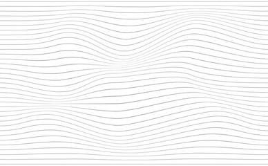 Waves strip background
