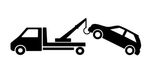 Fototapeta holowanie auta obraz
