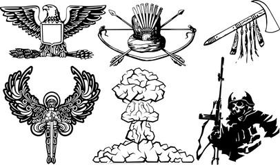 戦争・テロのイラスト