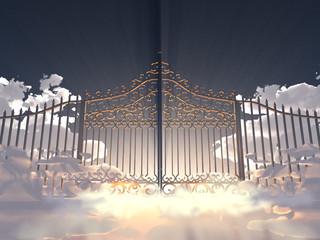 Portón en el cielo