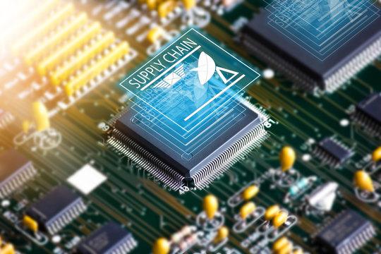 Electronic circuit board , Setup IC Business