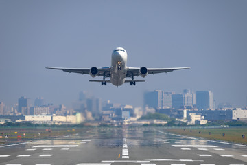 Boeing 767-300ER takeoff
