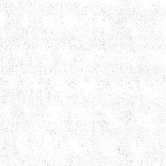 Grunge Texture on White Background, Abstract Dotted Vector, Halftone Grungy, Rough Monochrome Design