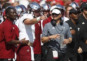 NCAA Football: Troy at Nebraska