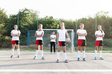 Handball female team