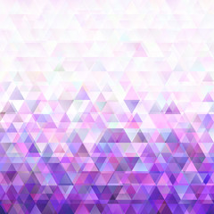 Geometric abstract triangle background design with opacity effect