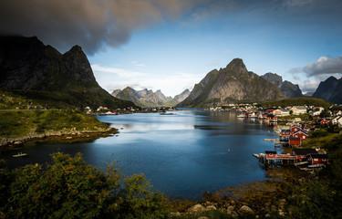 Reine, Norway Landscape