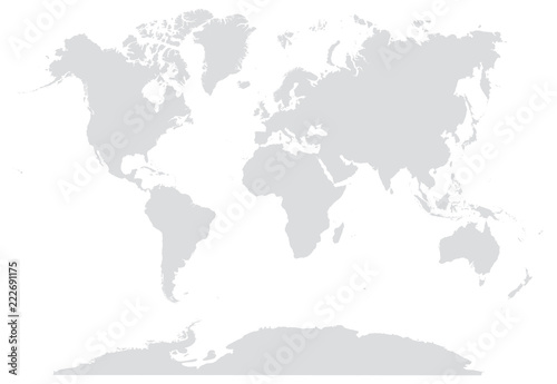 15 gray world map editable stock image and royalty free vector