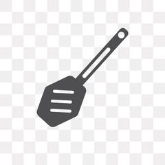 Paddle vector icon isolated on transparent background, Paddle logo design