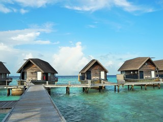 the resort in Maldives